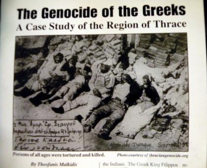 Turkish Genocide against Greeks